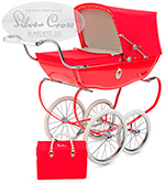 Коляска для кукол Silver-Cross Chatsworth Dolls Pram Poppy