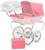 Коляска для кукол Silver-Cross Chatsworth Dolls Pram Rose