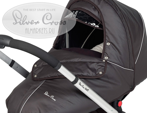 Зимний набор Silver Cross Surf Winter Pack Black