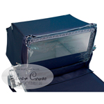 Silver-Cross Balmoral Dust Cover Navy